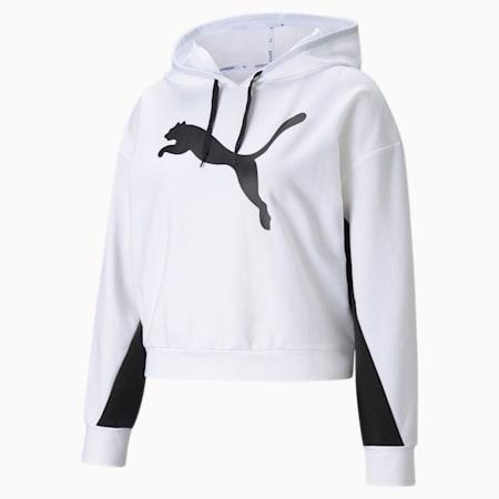 Sudadera con capucha para mujer Modern Sports, Puma White, small