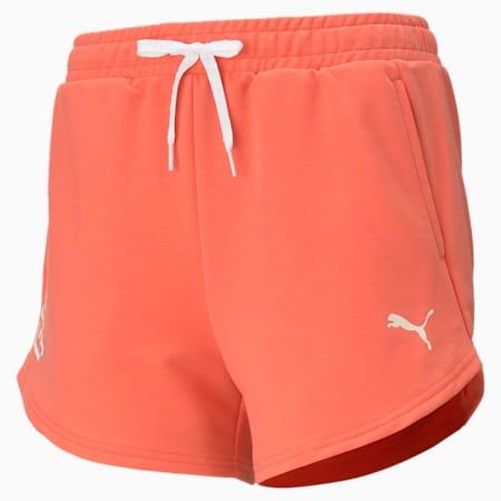 Modern Sports Women's Relaxed Shorts, Georgia Peach, small-IND