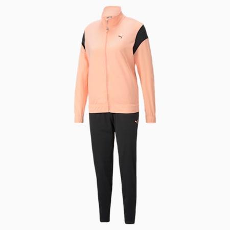 Classic Tricot Damen Trainingsanzug, Apricot Blush, small