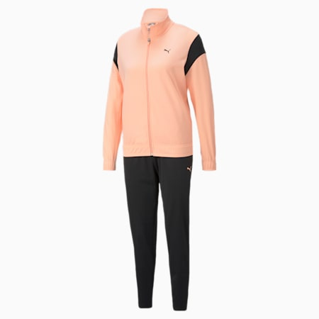 Classic Tricot Women's Tracksuit, Apricot Blush, small