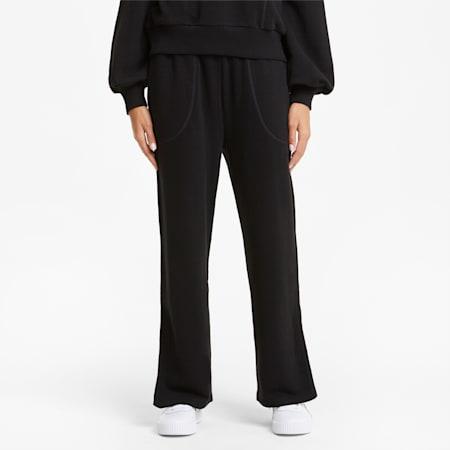 HER Wide Women's Sweatpants, Puma Black, small