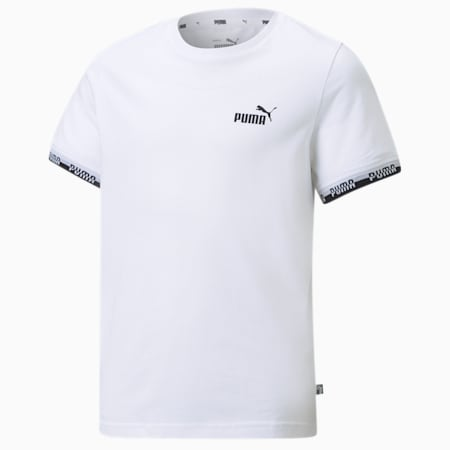 Amplified Jugend T-Shirt, Puma White, small