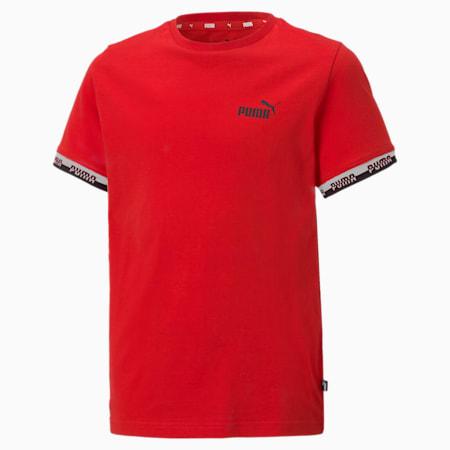Młodzieżowy T-shirt Amplified, High Risk Red, small