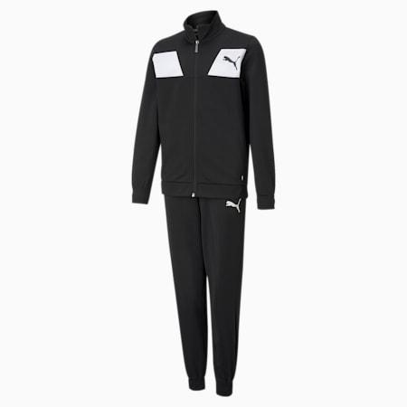 Polyester Jugend Trainingsanzug, Puma Black, small