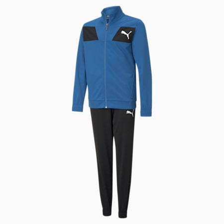 Polyester Youth Tracksuit, Star Sapphire, small-GBR