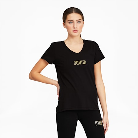Modern Basics Women's Tee, Puma Black, small