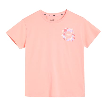 Alpha Silhouette Youth Tee, Apricot Blush, small-SEA