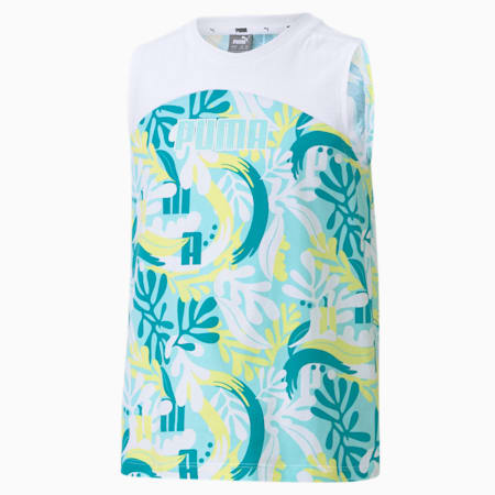 Alpha Youth Tank Top, Island Paradise, small-SEA