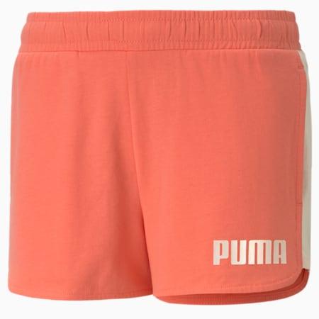 Alpha Youth Shorts, Georgia Peach, small-SEA