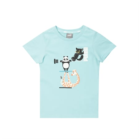 Paw Kids'  T-shirt, Angel Blue, small-IND
