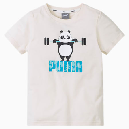 T-shirt Paw enfant, Eggnog, small