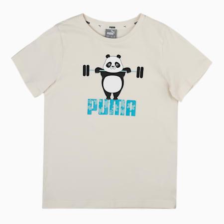Paw Kids'  T-shirt, Eggnog, small-IND