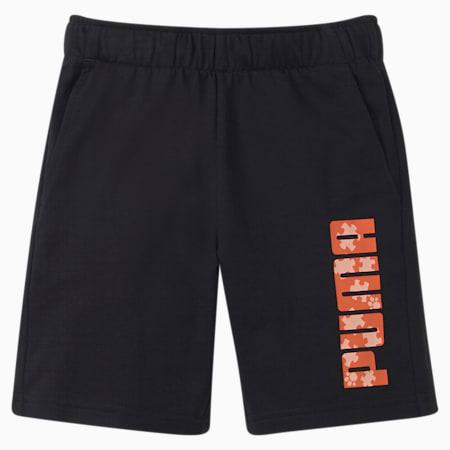 Paw Kinder Shorts, Puma Black, small