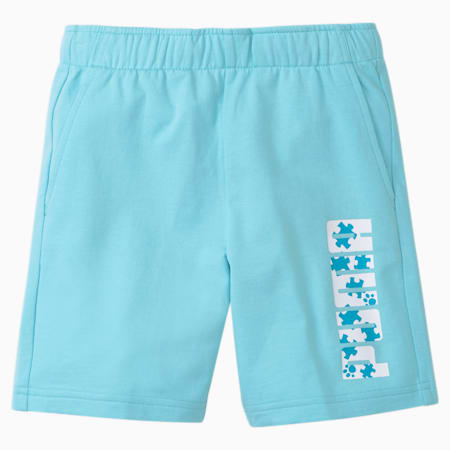 Paw Kids' Shorts, Angel Blue, small