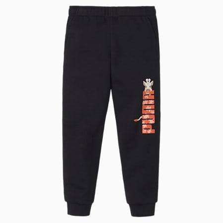 Paw Kids' Sweatpants, Puma Black, small