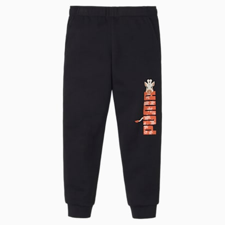 Paw Kinder Sweatpants, Puma Black, small