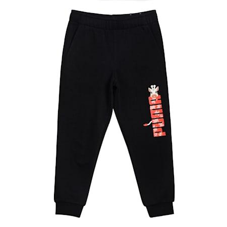 Paw Kids' Sweatpants, Puma Black, small-IND