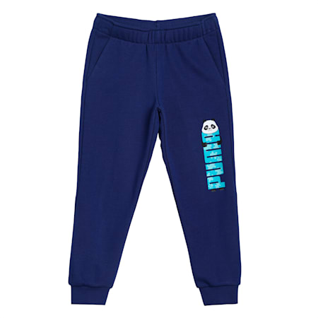 Paw Kids' Sweatpants, Elektro Blue, small-IND