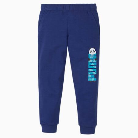 Paw Kids' Sweatpants, Elektro Blue, small-SEA