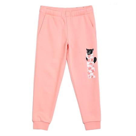 Paw Kids' Sweatpants, Apricot Blush, small-IND
