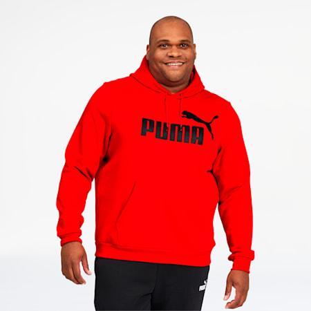 Essentials Big Logo Men's Hoodie BT, Puma Red, small
