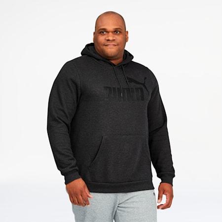 Essentials Big Logo Men's Hoodie BT, Dark Gray Heather, small