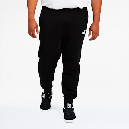 Essentials Men's Logo Sweatpants BT, Cotton Black, small