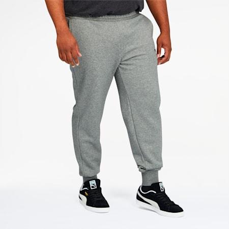 Essentials Men's Logo Sweatpants BT, Medium Gray Heather, small