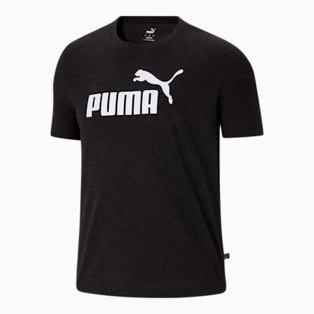 T-shirt chiné BT Essentials, homme, coton noir, petit