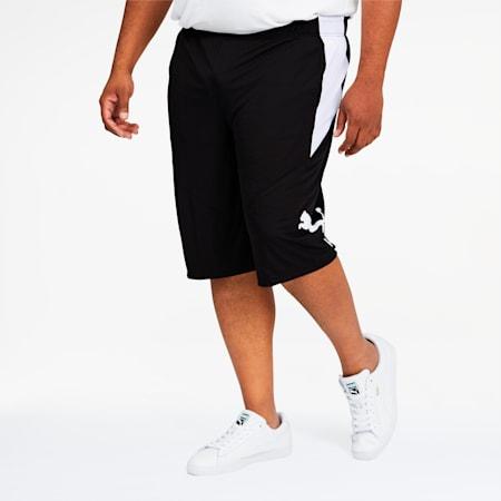 PUMA Cat Men's Training Shorts BT, Puma Black-Puma White, small