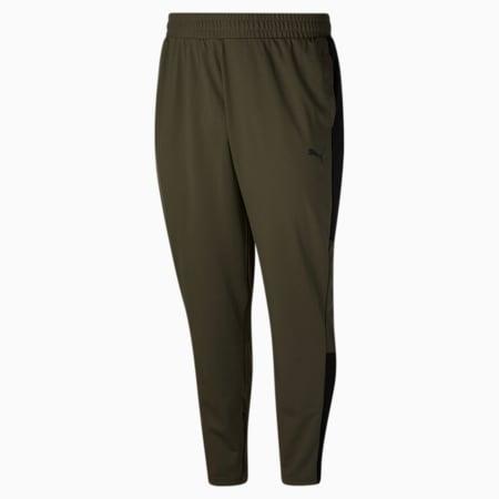 Pantalon d'entraînement BT PUMA Blaster, homme, Feuille de vigne-noir Puma, petit