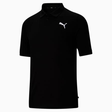 Camiseta tipo polo Essentialsde piqué para hombreBT, Cotton Black, pequeño