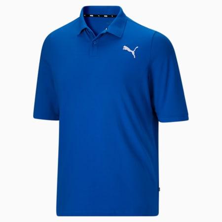 Camiseta tipo polo Essentialsde piqué para hombreBT, Future Blue-Puma White, pequeño