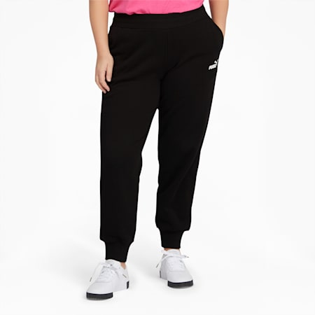Essentials Women's Sweatpants, Cotton Black, small