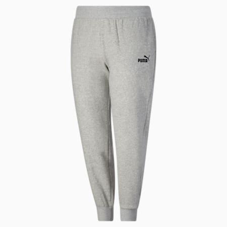 Pantalones deportivos Essentials para mujer PL, Light Gray Heather, pequeño