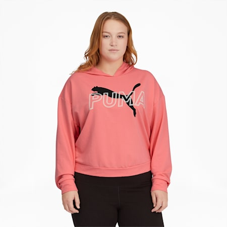 Modern Sports Women's Hoodie PL, Salmon Rose, small