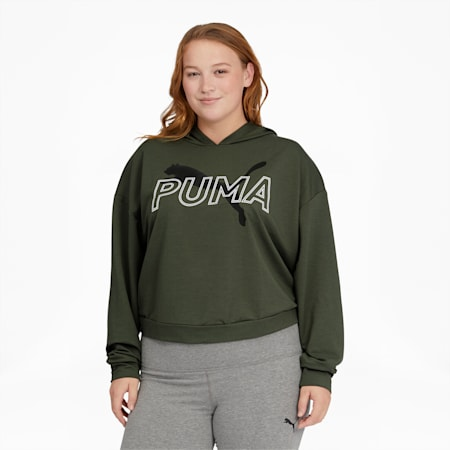 Modern Sports Women's Hoodie PL, Thyme, small