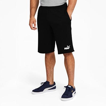 Short Essentials+, homme, coton noir, petit