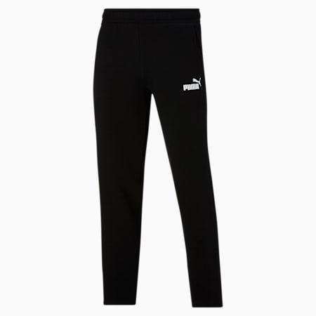 Pantalones con logo Essentialspara hombre, Cotton Black, pequeño