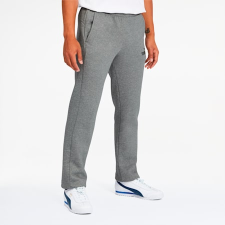 Essentials Men's Logo Pants, Medium Gray Heather, small