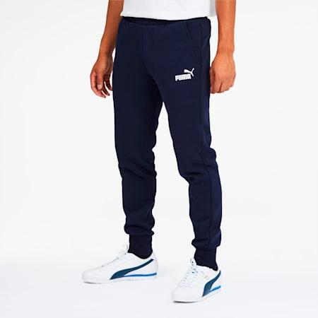 Essentials Men's Logo Sweatpants, Peacoat, small