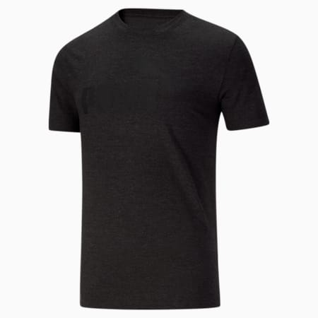 CamisetaEssentialsHeather para hombre, Dark Gray Heather, pequeño