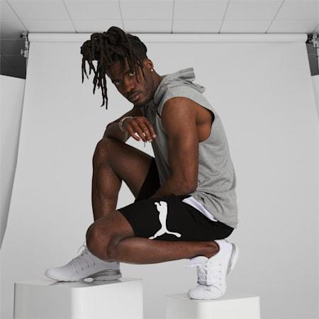 PUMA Cat Men's Training Shorts, Puma Black-Puma White, small