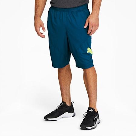 PUMA Cat Men's Training Shorts, Digi-blue, small