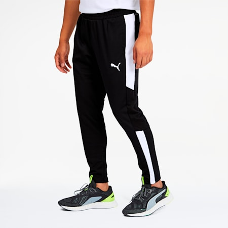 PUMA Blaster Men's Training Pants, Puma Black-Puma White, small