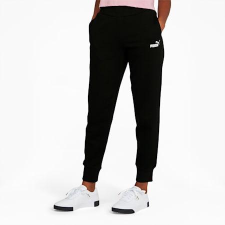 Essentials Women's Sweatpants, Cotton Black, small