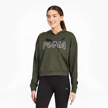 Modern Sports Women's Hoodie, Thyme, small