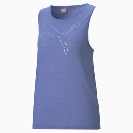 RTG Layer Women's Loose Tank Top, Hazy Blue, small-IND