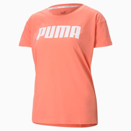 RTG Logo Relaxed Fit Women's T-shirt, Georgia Peach, small-IND