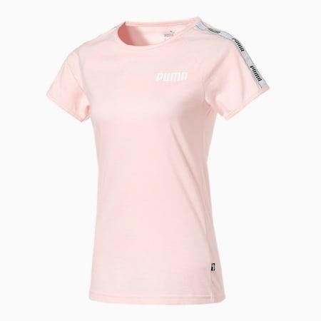 テープ Tシャツ 半袖 ウィメンズ, Pink Dogwood, small-JPN